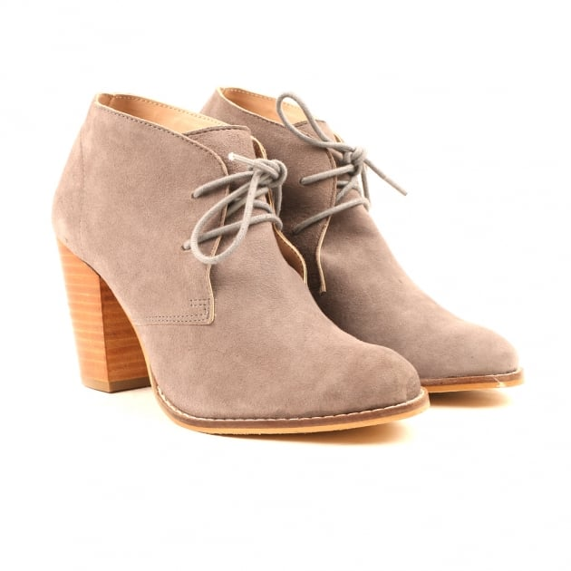 Carolyn Grey Ankle Boots
