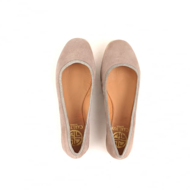 Cary Grey Ballerina Shoes