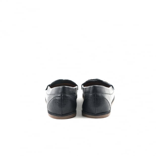 Carlton London Chana Black Loafers