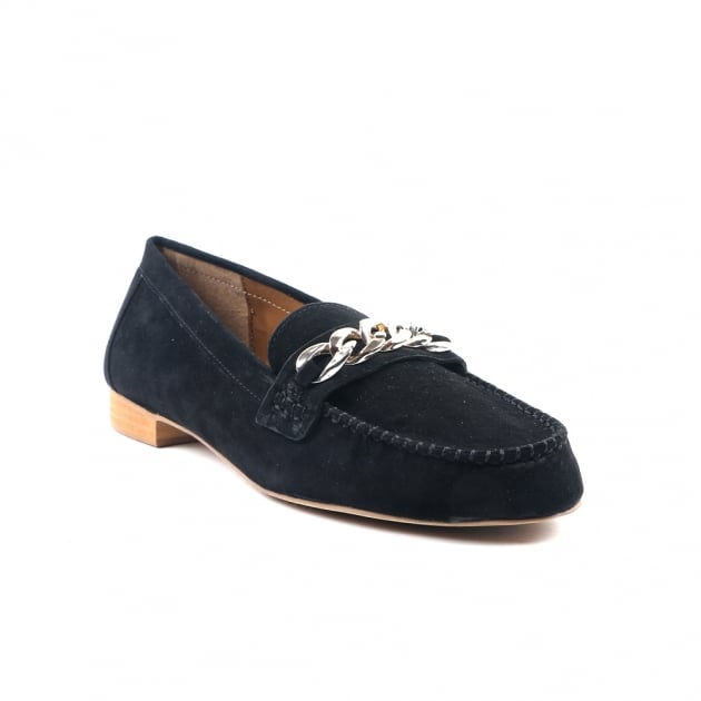 Carlton London Charli Black Loafers