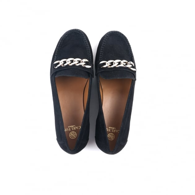 Charli Black Loafers