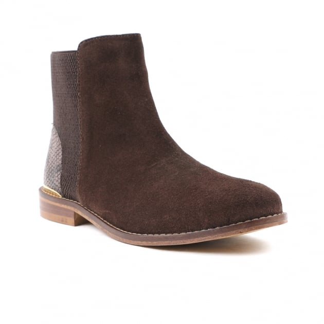 Carlton London Chelsie Chocolate Brown Chelsea Boots