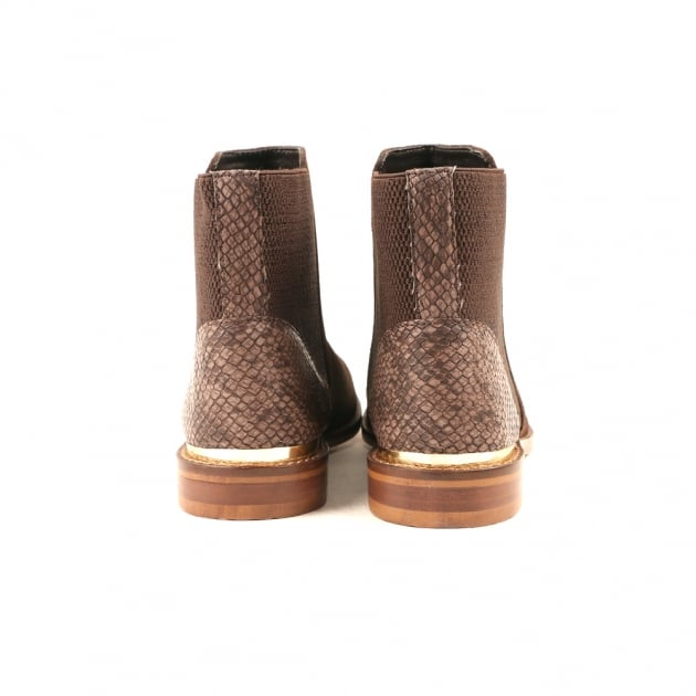 Chelsie Chocolate Brown Chelsea Boots