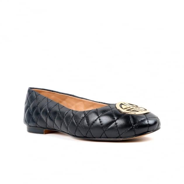 Chiara Black Ballerina Shoes