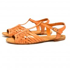 Carlton London Kris Mkc002 Orange Sandals