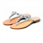 Carlton London Kristabel Cl2027 Silver Sandals