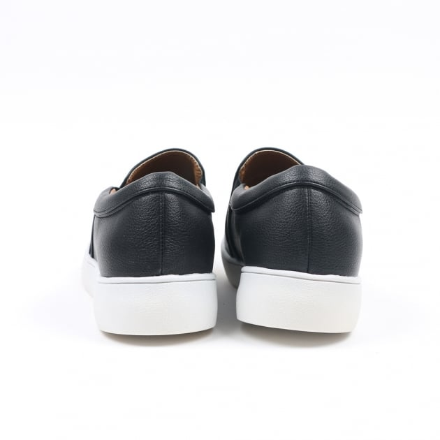 Carlton London Nachi Black Trainers