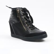 Carlton London Nadni Black Shoes