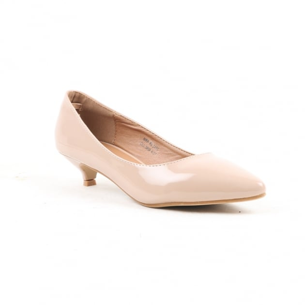 Carlton London Nanda Nude Court Shoes
