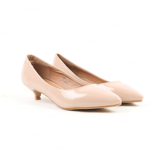 Nanda Nude Court Shoes