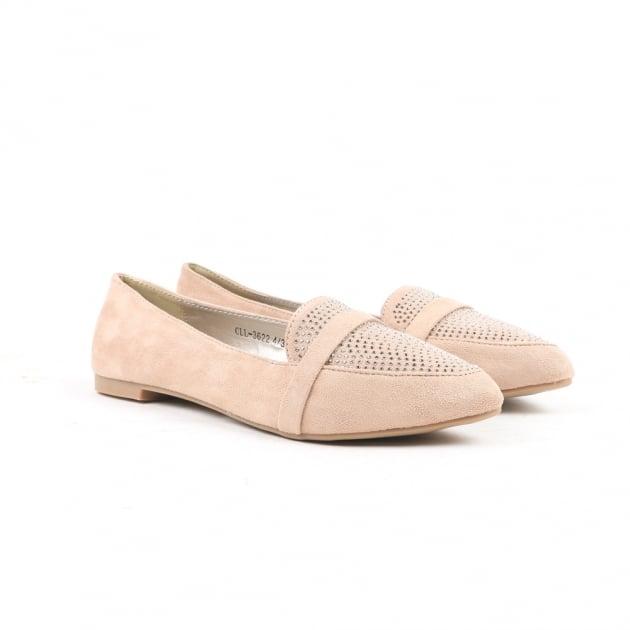 Nanim Nude Loafers