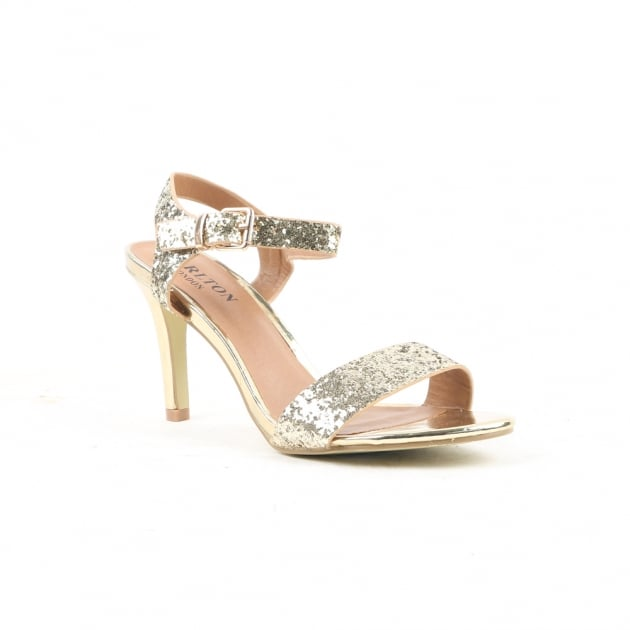 Carlton London Nanma Gold Sandals
