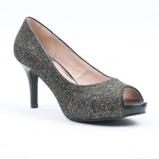 Carlton London Nayna CLL3668 Pewter Shoes