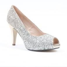 Carlton London Nayna Gold Court Shoes