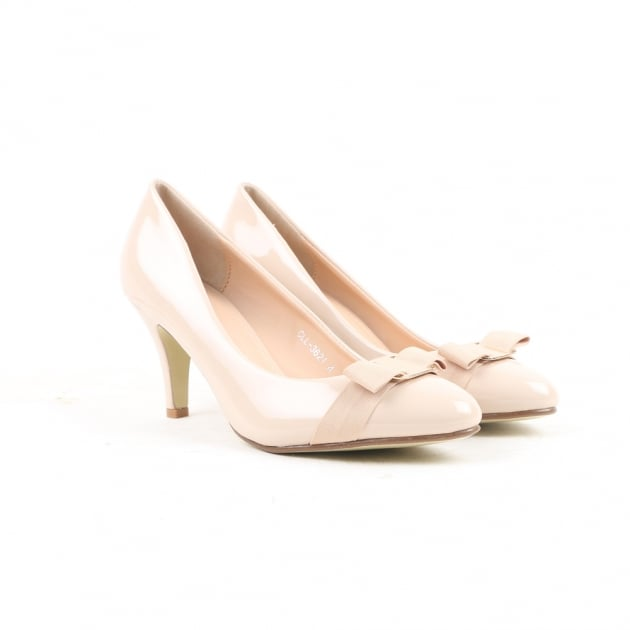 Carlton London Neema Beige Court Shoes
