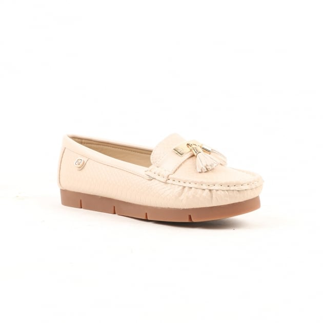 Carlton London Nina Light Pink Loafers