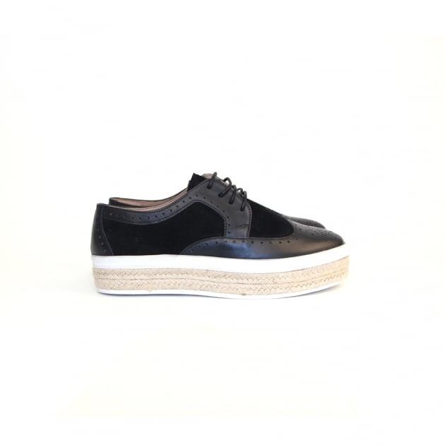 Carlton London Paccia CL7111 Black Shoes