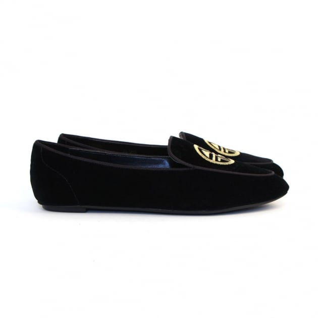 Carlton London Pari CL7449 Black Shoes