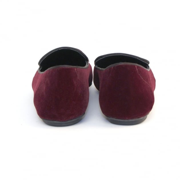 Pari CL7449 Burgundy Shoes