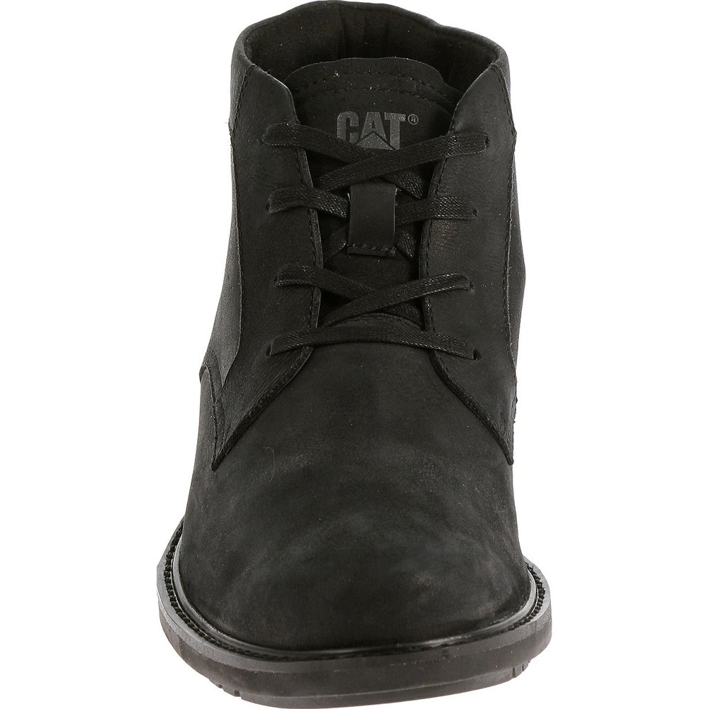 Caterpillar Brock P719118 Men's Black Shoes Free Delivery