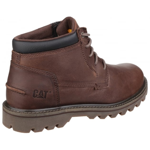 Doubleday Lace Up Brown Boots