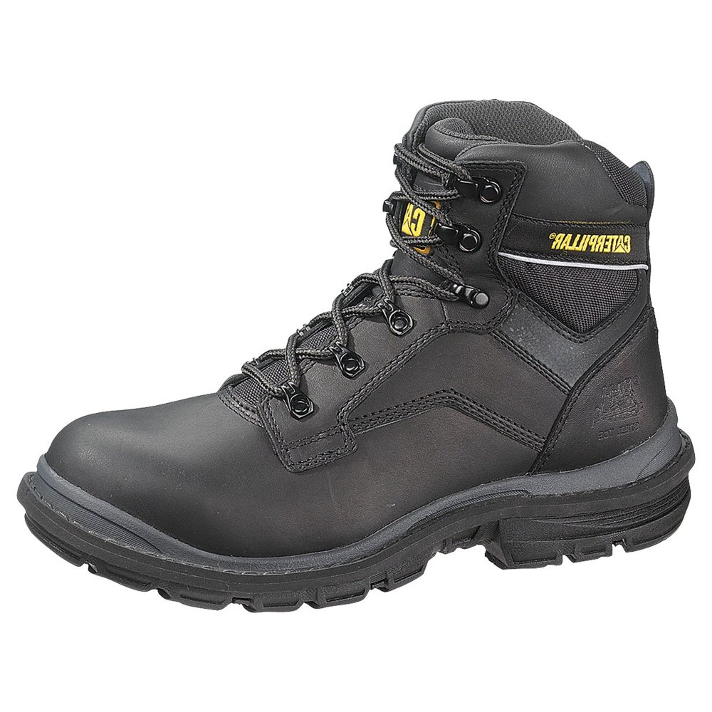 Caterpillar Generator 6 P713215 Men s Black Boots - Free Delivery at  Shoes.co.uk a46fd32ac71