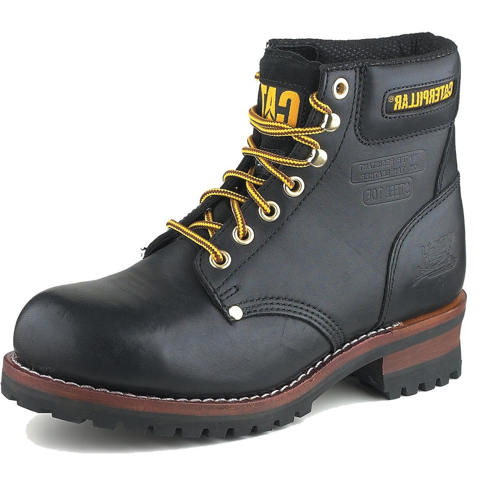 1fe572f89 Caterpillar Sequoia 708917 Men's Black Boots - Free Delivery at Shoes.co.uk