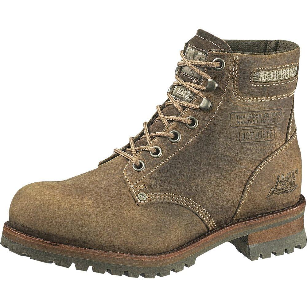 c040d6ba9 Caterpillar Sequoia 708917 Men's Dark Beige Boots - Free Delivery at Shoes .co.uk