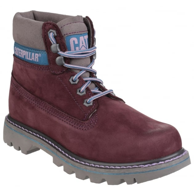 Caterpillar Womens Colorado Basic Spice Lace Up Sassafras Boots