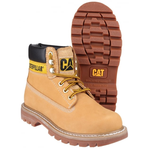 Caterpillar Womens Colorado Lace Up Honey Reset Boots