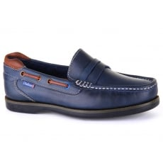Chatham Balfour Navy/Tan Shoes