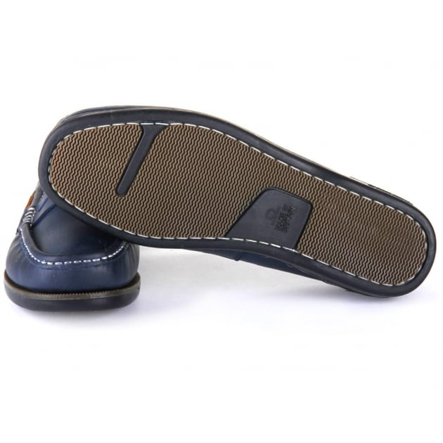 Chatham Balfour Navy/Tan Shoes