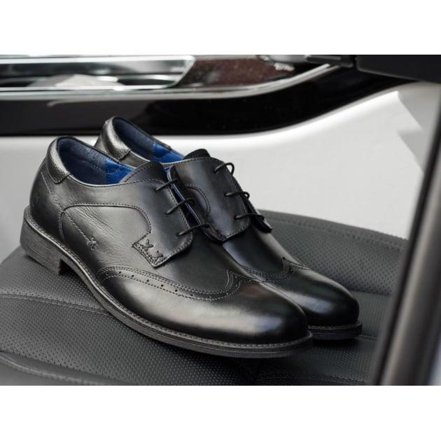 Chatham Bath Black Shoes