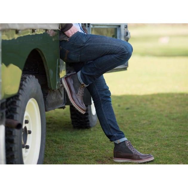 Chatham Carlton Brown Boots