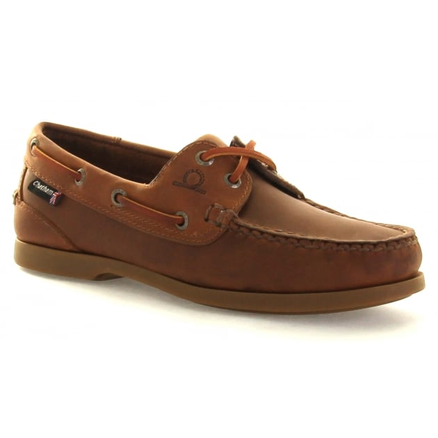 Chatham Deck Lady G2 Walnut Shoes