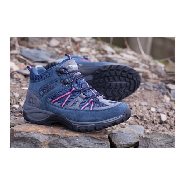 Chatham Jasper Navy/Pink Shoes