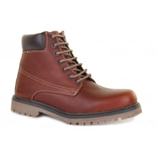 Chatham Maguire Red Brown Boots