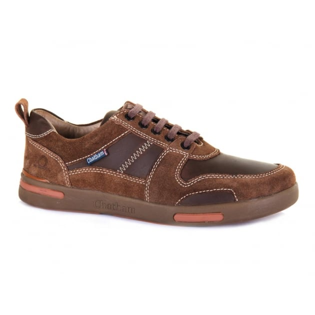 Chatham Recoil Brown Shoes