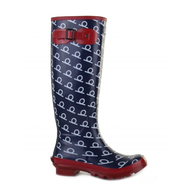 Chatham Tamar Navy Wellies