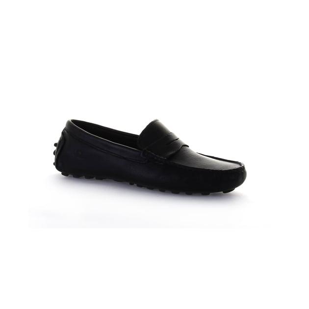 Chatham Tropez Black Shoes