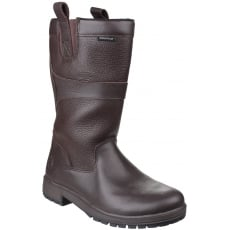Cotswold Ascot Waterproof Pull On Brown Wellies