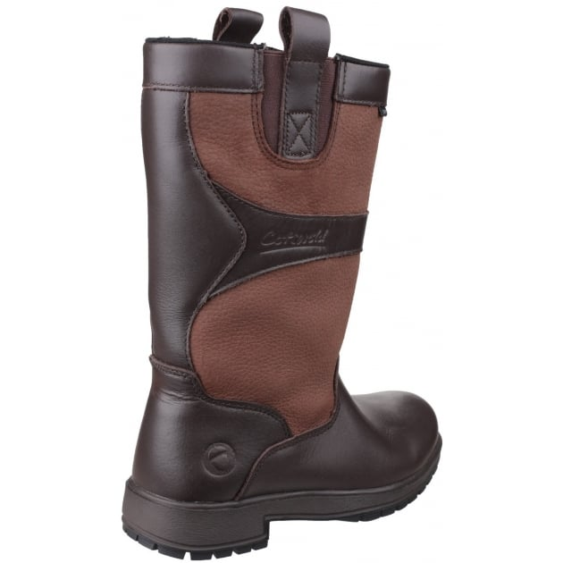 Cotswold Ascot Waterproof Pull On Walnut Wellies