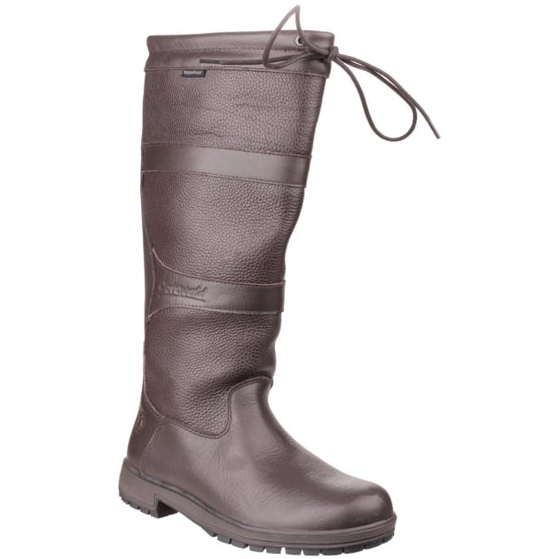 Cotswold Beaumont Waterproof Pull On Brown Wellies