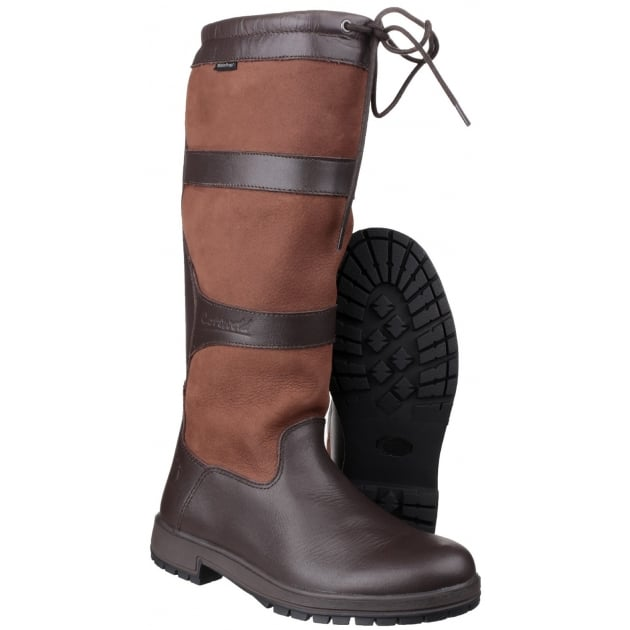 Cotswold Beaumont Waterproof Pull On Walnut Wellies