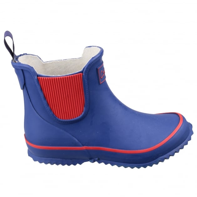 Cotswold Bushy Kids Blue Wellies