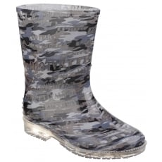 Cotswold Camo Kids Wellington