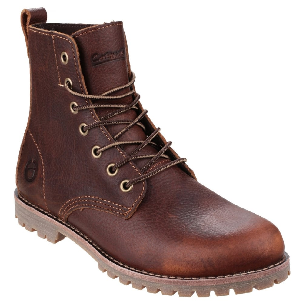 cotswold cotswold elm s brown boots free returns