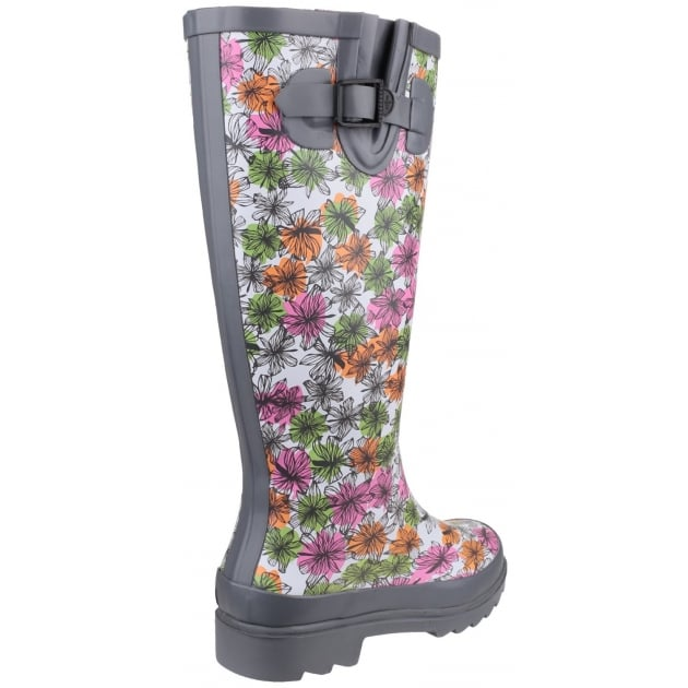 Cotswold Flower Power Wellington Grey