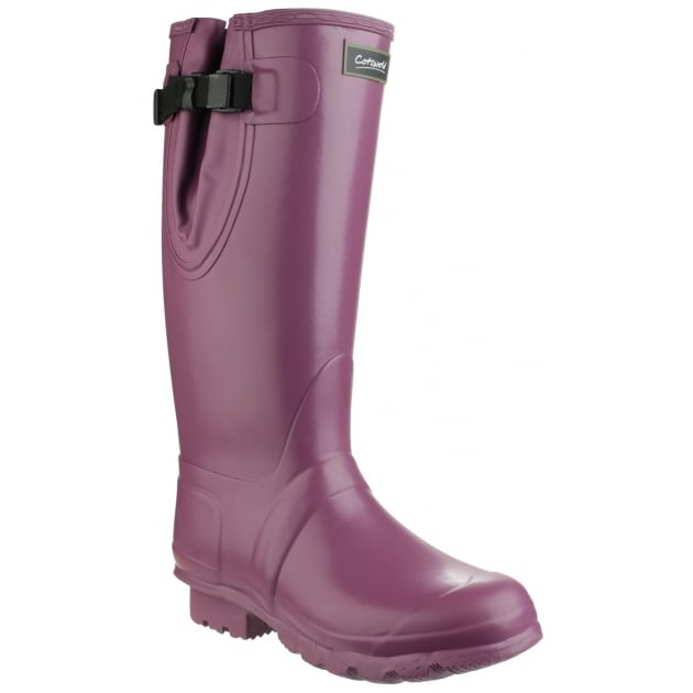 Cotswold Kew Neoprene Wellington Womens Purple