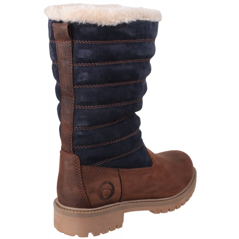cotswold ripple zip up s brown black boots free